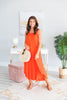 Mud Pie: Michaela Orange Maxi Dress