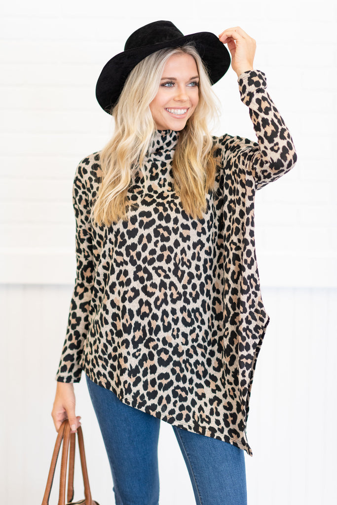 Just In Time Tunic, Leopard