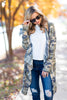 Ready To Go Anywhere Cardigan, Green Camo