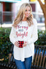 Merry and Bright Tunic, Ivory