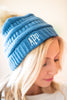 Fun To Be Had Beanie, Denim Blue