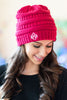 Tip Of The Iceberg Beanie, Hot Pink