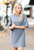 Beauty Personified Dress, Ash Gray