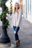 tunic, white, knit, flowy, long sleeve, v neck, winter, solid, fringe