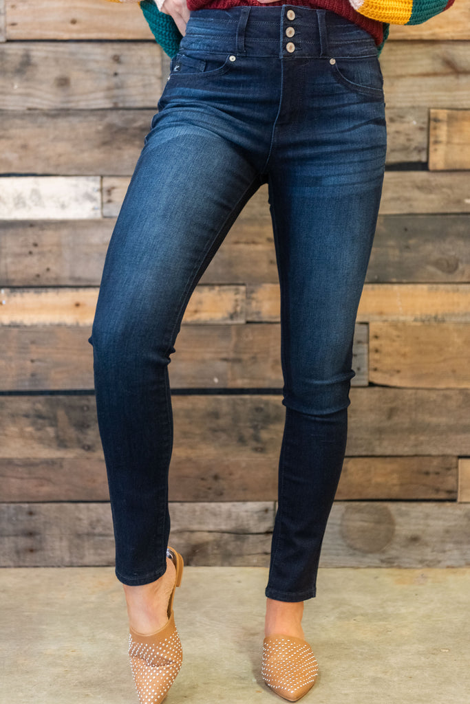 jeans, skinny, blue, tight, casual, winter, dark wash, long
