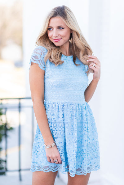Tiffany Blue Casual Dress