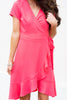 Bold Decisions Dress, Coral Red