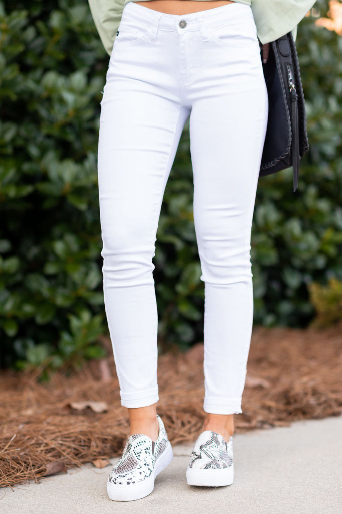 white, skinnies, jeans, skinny, stretch