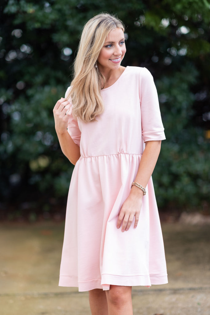Prepared Perfection Dress, Pink