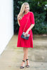 Prepared Perfection Dress, Red
