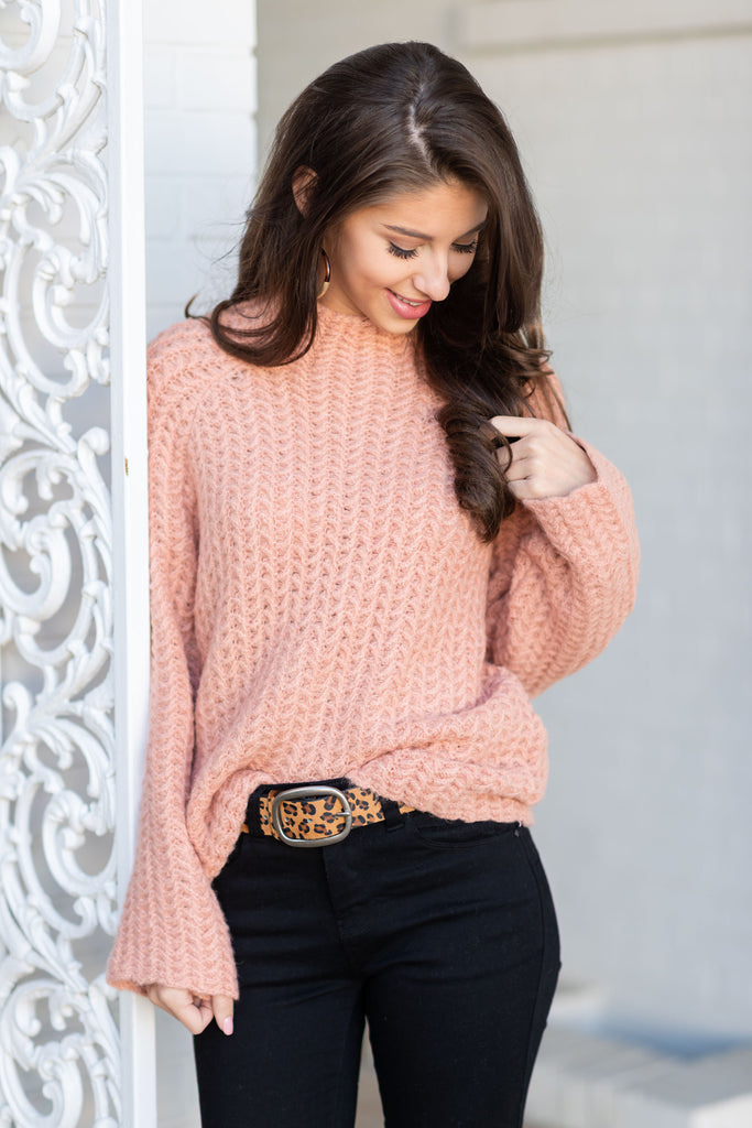 Come To The Light Sweater, Blush