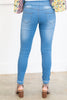 Can't Stop You Jeggings, Light Denim