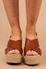 wedges, espadrille wedges, brown, cognac, versatile, chic