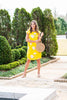 Live In Love Dress, Yellow