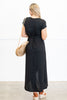 Give You Love Maxi Dress, Black