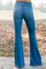 flare jeans, light washed, trendy, sassy, classic coloring, zipper back, jeans, jeggings, flare jeggings, medium wash, pants, bottoms