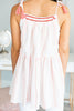 Sweet And Flirty Tunic, Rose Powder