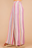 pink, pants, multi color, light, wide leg pants