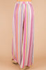 Shine So Bright Pink Multi Striped Pants