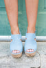 Meet You There Heels, Chambray