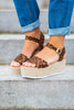 Lost In You Wedges, Leopard