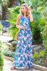 A Night Out In The Tropics Maxi Dress, Pink