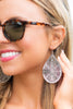 Moroccan Muse Earrings, Silver