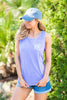 Comfort Colors: Sunny Day Adventures Tank, Violet