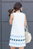 Sincere Love Dress, White