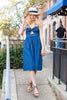 Know What You're Doing Dress, Dark Chambray