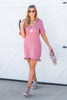 Easy To See Dress, Mauve