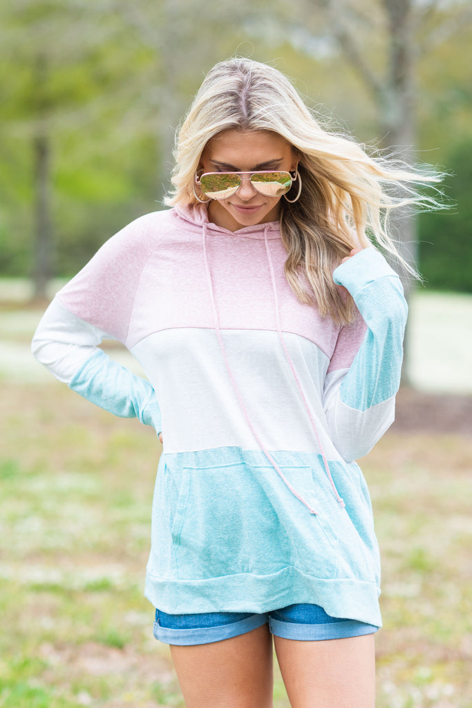 Be The Best Hoodie, Blush-Multi