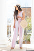Walking In A Daydream Jumpsuit, Purple-Multi
