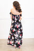 Let's Get Away Maxi Dress, Black