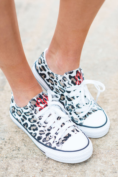 Walk This Way Sneakers, Leopard