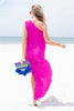 Dreaming Of Vacays Maxi Dress, Neon Berry