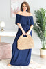 Can You Believe It Maxi Dress, Navy