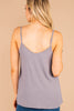 button details, tank straps, tank, top, gray, v-neckline
