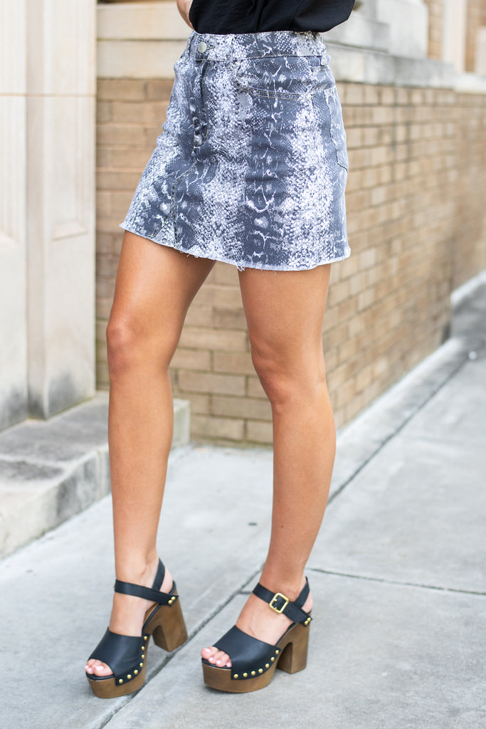 In The Wild Skirt, Gray