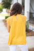 Known To Be Beautiful Top, Mustard