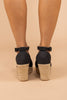 espadrille wedges, wedges, black, black wedges