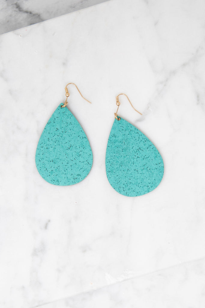 Born To Love Earrings, Turquoise