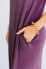 tank straps, pockets, round neckline, maxi dress, dress, purple
