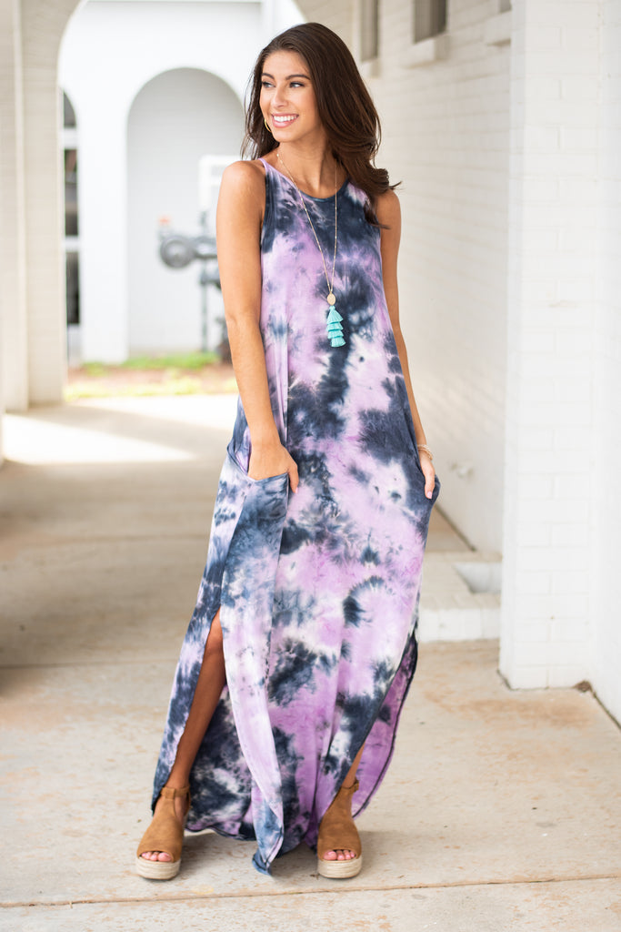 Go Where You Want Maxi Dress, Lavender