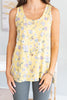 Easy Summer Day Tank, Yellow