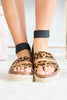 Can't Stop The Fun Platform Sandals, Leopard