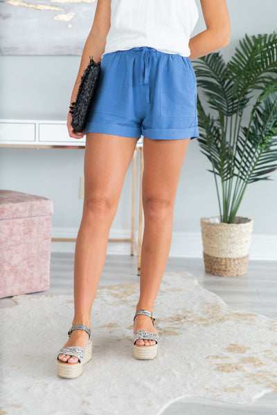 a08442c991a Running All Over Town Shorts, Royal Blue