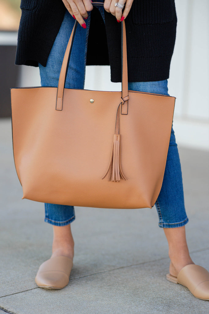 versatile brown purse