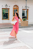 Loved You All Along Maxi Dress, Fuchsia-Ivory