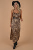 Make You Smile Brown Leopard Maxi Dress